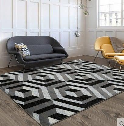 北歐沙發茶几客廳地毯臥室床邊房間滿鋪可機洗長方形簡約現代家用