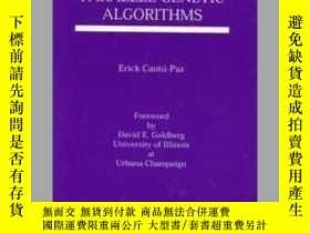 二手書博民逛書店Efficient罕見and Accurate Parallel Genetic Algorithms-高效精確的