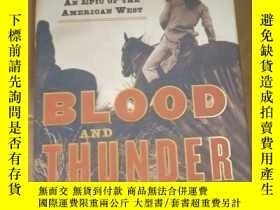 二手書博民逛書店Blood罕見and Thunder: The Epic Sto
