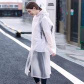 雨衣成人背包分體雨衣長款戶外徒步旅游男女時尚單人透明防水便攜雨披 雙12鉅惠交換禮物