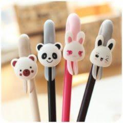 可愛動物書籤筆 中性筆 兒童禮物 學生獎品(可當書籤)-艾發現