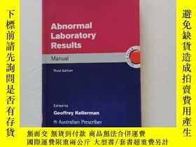 二手書博民逛書店Abnormal罕見Laboratory ResultsY22264 Geoffrey Kellerman