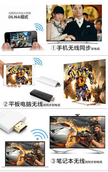 【世明國際】無線電視棒 影音傳輸 高清視頻轉接線 手機轉HDMI 手機電視棒 WIFI 影音轉接器 同屏器