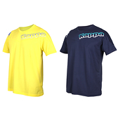 KAPPA 男圓領短袖T恤(台灣製 運動上衣 吸濕排汗 慢跑 路跑≡體院≡ 311852W