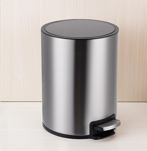 垃圾桶家用有蓋帶蓋腳踩腳踏式創意歐式不銹鋼客廳廚房衛生間臥室 一木良品