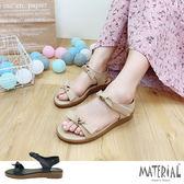涼鞋 平結優雅平底涼鞋 MA女鞋 T7007