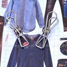 【DG375】不銹鋼被夾20入 不鏽鋼衣夾5.6CM 白鐵衣夾 衣夾子 棉被夾★EZGO商城★