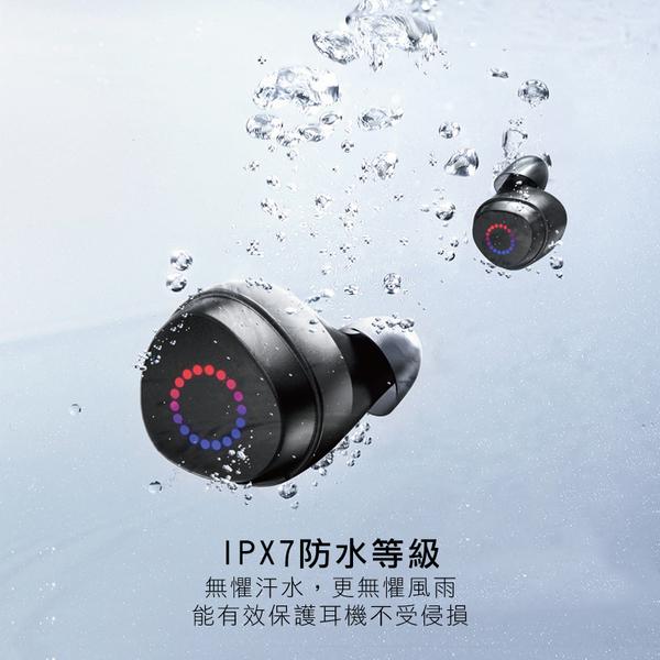 【機樂堂】藍芽耳機 防水 智能觸控 雙耳 入耳式 輕巧方便 無線 藍牙耳機 通話 運動 車載 充電盒