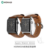【A Shop】NOMAD x HORWEEN皮革 Apple Watch 經典皮革錶帶 42 / 44 mm (經典款) For series 4/3/2
