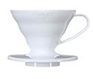 金時代書香咖啡 HARIO V60 01 樹脂濾杯 白色 1-2杯 VD-01W