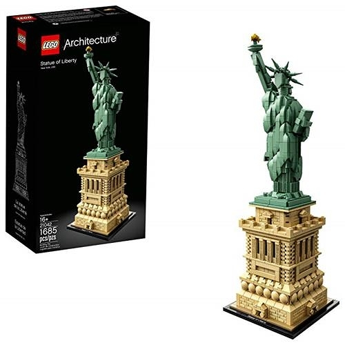 LEGO 樂高 Architecture Statue of Liberty 21042 Building Kit (1685 Piece)
