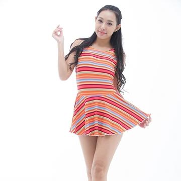 【南紡購物中心】【BICH LOAN】泡湯/SPA專用大尺碼連身裙泳裝13006617