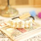 新款珍珠白 閃耀時尚髮束 Nt001 ◆ 韓妮小熊