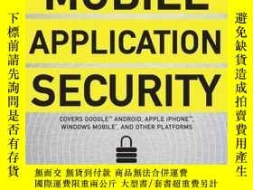 二手書博民逛書店Mobile罕見Application SecurityY256260 Himanshu Dwivedi Mc