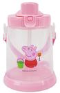 Peppa Pig 粉紅豬小妹 佩佩豬 胖胖吸管水壺 430ml 粉紅 PP54861A