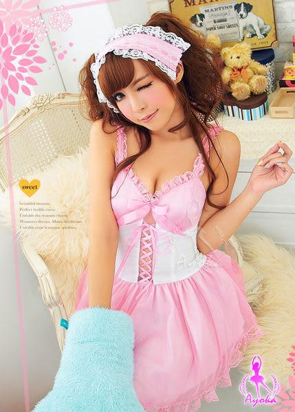 《蘇菲雅睡衣精品》夢遊仙境!甜美二件式角色服