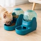 寵物餵食器 狗狗自動飲水器寵物喂食器水盆貓咪喝水器掛式飲水機【快速出貨八折鉅惠】