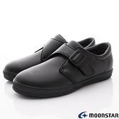 日本月星Moonstar機能童鞋黑皮鞋系列22246黑(中大童段)