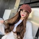 假髮帽-假發帽子一體女秋冬韓版潮長捲發自然仿真帶頭發八角貝雷鴨舌帽子 提拉米蘇