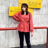 中大尺碼  V領排釦修身上衣 - 共兩色 - 適XL~4L《  69175  》CC-GIRL