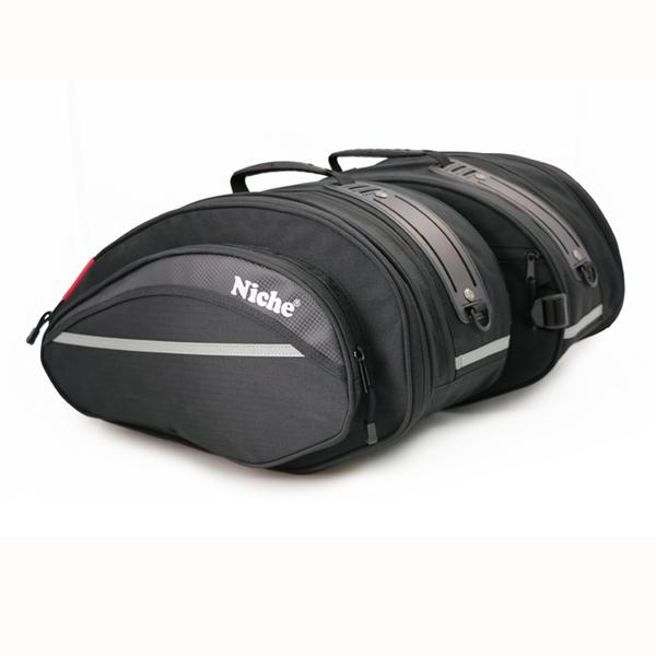 【NMO-2206】Niche 重機馬鞍包 邊包 後座包 側掛包 騎士旅行包 檔車包 可擴充防水 重機車身部品