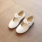 女童單鞋黑色皮鞋公主鞋小女孩鞋子2021秋款兒童女演出兒童鞋軟底 小天使 99免運