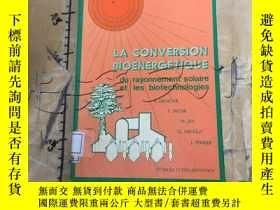 二手書博民逛書店La罕見conversion bioenergetique du