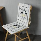 椅背套家用椅套餐桌布椅套棉麻坐墊防滑【極簡生活館】