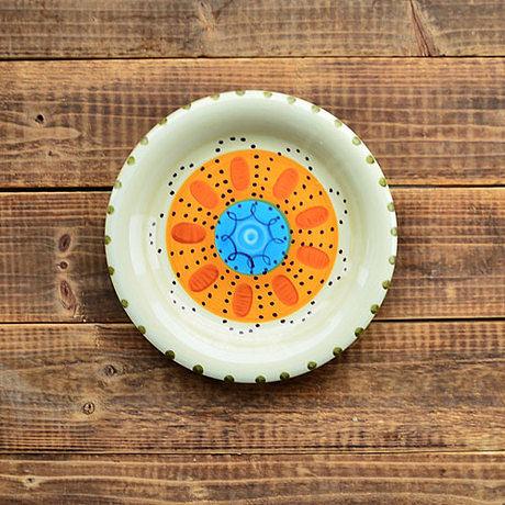 手繪陶瓷|7.7寸平盤|