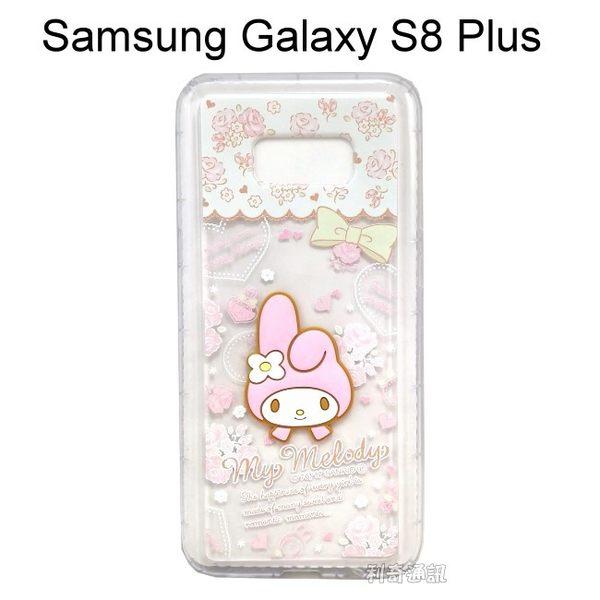立體大頭美樂蒂空壓軟殼 [玫瑰] Samsung Galaxy S8 Plus G955FD (6.2吋)【三麗鷗正版授權】
