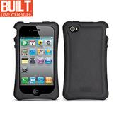 【A Shop】 BUILT NY IPhone 4 Erogonomic Soft Case 矽膠保護套(A-PH4S-BLK)- 黑色