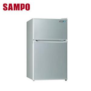 【SAMPO聲寶】100公升一級雙門冰箱(SR-A10G)含基本安裝
