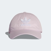 adidas 帽子 Originals Trefoil Classic Cap 男女款 棒球帽 老帽 馬卡龍 粉 【PUMP306】 DJ0882