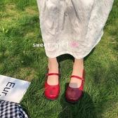 瑪麗珍鞋 新款ins小皮鞋女復古學院風平底一字扣日系JK瑪麗珍娃娃單鞋 瑪麗蘇