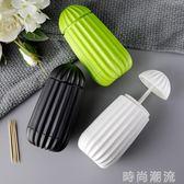牙籤盒按壓式牙籤盒客廳廚房簡約便攜桶牙籤筒牙籤罐收納創意家用 時尚潮流