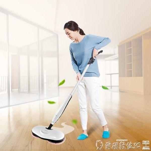 蒸汽掃把日系韓京姬無線電動拖把自動拖地機掃地一體機器人家用擦地無蒸汽LX爾碩數位