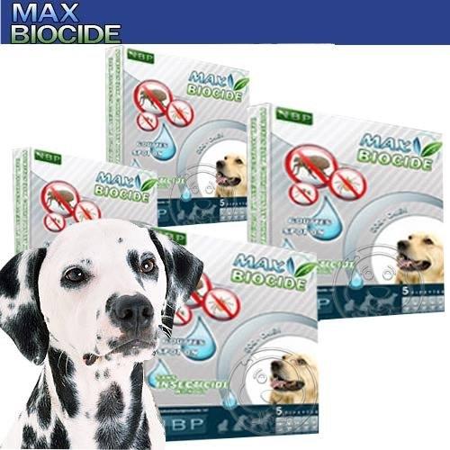 【🐱🐶培菓寵物48H出貨🐰🐹】西班牙NBP》香茅天然犬用驅蝨滴劑 (5劑入)無藥劑殘留(蝦)