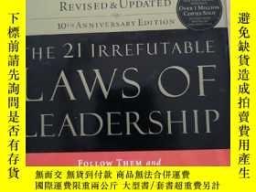 二手書博民逛書店THE罕見21 IRREFUTABLE LAWS OF LEAD