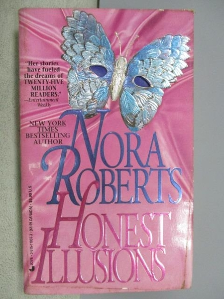 【書寶二手書T7/原文小說_FSB】Honest Illusions_Nora Roberts