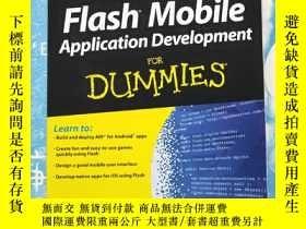 二手書博民逛書店flash罕見mobile application develo