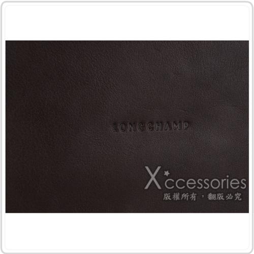 LONGCHAMP PARISIS系列羊皮後背包(深咖啡)