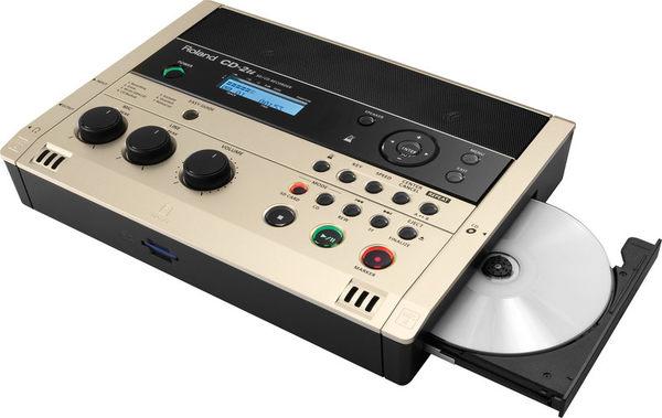 【金聲樂器】ROLAND CD-2u 錄音機 無壓縮WAV格式 CD/SD雙儲存媒體