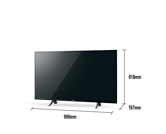 《Panasonic 國際牌》43吋 真•自然6原色 4K液晶電視 TH-43JX750W (含視訊盒)(安裝另計)