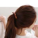 簡約氣質PU皮革蝴蝶結髮束 髮繩 (不挑色) ACE0044