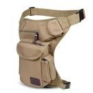 軍規腰包 男士多功能帆布腿包軍迷戰術包戶外運動騎行腰包綁腿包工具包新款  快速出貨