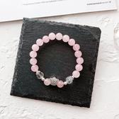 手環 清新 水晶 皇冠 多元素 串珠 彈性 手環 手飾