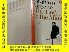 二手書博民逛書店THE罕見END OF THE AFFAIR(事情結束了)外文版