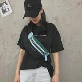 胸包腰包女小挎包簡約日系夜店包包【奇趣小屋】