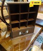 8號店鋪 森寶藝品傢俱 c-36 品味生活    餐廳   壁櫃 系列     K165A  實木彩繪單抽九格壁櫃