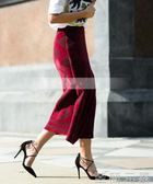 歐美新款交叉綁帶高跟鞋細跟性感尖頭淺口單鞋紅色繫帶女鞋 至簡元素